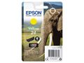 EPSON 24 ink cartridge yellow standard capacity 4.6ml 360 pages 1-pack blister without alarm