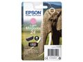 EPSON 24 ink cartridge light magenta standard capacity 5.1ml 360 pages 1-pack blister without alarm