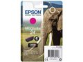 EPSON 24XL ink cartridge magenta high capacity 8.7ml 740 pages 1-pack blister without alarm