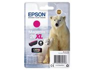 26XL ink cartridge magenta high capacity 9.7ml 700 pages 1-pack blister without alarm