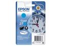EPSON 27XL ink cartridge cyan high capacity 10.4ml 1.100 pages 1-pack blister without alarm - DURABrite ultra ink