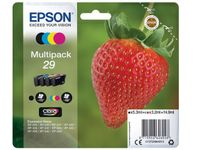 EPSON Multipack 4-colours 29 Claria Home Ink (Blister without alarm) (C13T29864012)