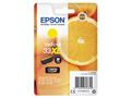 EPSON 33XL Yellow Claria Premium Ink w/alarm