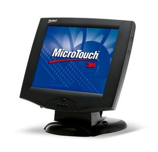 "3M 15"" MicroTouch Display M1500SS, Black, USB (11-81375-225)"