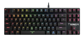 GAMDIAS HERMES M3, low profile Mechanical Keyboard, brown switch