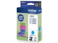 BROTHER LC221C Cyan ink (LC221C)