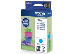 BROTHER INK CARTRIDGE CYAN 260 PAGES FOR MFC-J880DW SUPL (LC221C)