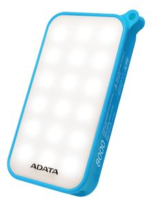 A-DATA Powerbank with LED Lamp (AD8000L-5V-CBL)
