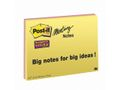 POST-IT Notes Post-it Super Sticky Møde- og Planlægningsnotes 149x200mm Pk/4 ass. farver