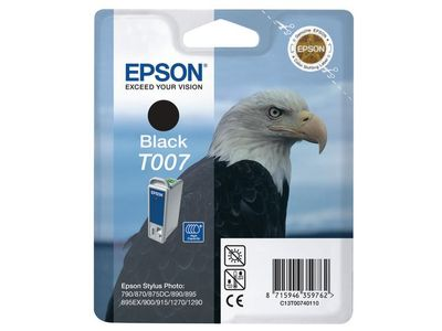 EPSON Ink Black for 870/ 875DC/ 1270/ 790/ 890/ 895/ 1290/ 915/ 1290S (C13T00740110)