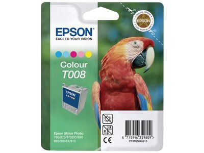 EPSON Ink Color for 870/ 875DC/ 790/ 890/ 895/ 915 (C13T00840110)
