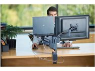 KENSINGTON COLUMN MOUNT DUAL MONITOR ARM . (K60900US)