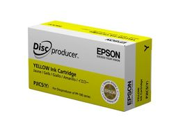 Epson INK, YELLOW, PJIC5, FOR DISCPRODUCER (C13S020451)