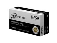EPSON INK, BLACK, PJIC6, FOR DISCPRODUCER,  (C13S020452)