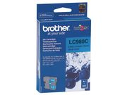 BROTHER LC980C ink cyan for DCP-145C DCP-165C -195C -365CN -375CW MFC-250C -255CW -290C -295CN