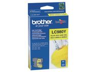 BROTHER Blekk BROTHER LC980Y gul