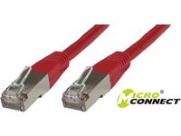 MICROCONNECT FTP CAT5E 0.5M RED PVC SPECIAL PR (B-FTP5005R)
