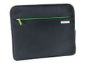 "COMPLETE SMART TRAVELLER SLEEVE 10"" BLACK / LEITZ (62930095)"