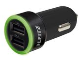 Complete Charger USB Universal Dual 4.8A Black / LEITZ (62220095)