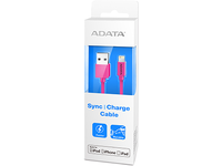A-DATA Lightning & Sync Cable Pink (AMFIPL-100CM-CPK)