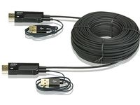 ATEN HDMI Active Optical Cable 100M   4Kx2K Plug & Play (VE875-AT)