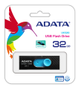 A-DATA ADATA UV320 32GB Black/ Blue USB3.1