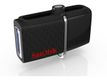 SANDISK ULTRA ANDROID DUAL 128GB BLACK USB DRIVE EXT