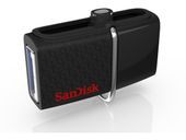 SANDISK ULTRA ANDROID DUAL 16GB BLACK USB DRIVE EXT