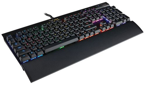 CORSAIR Gaming K70 RGB Mechanical,  Gaming Keyboard Nordic, Cherry MX Brown (CH-9000065-ND)