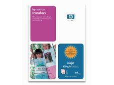 HP Iron-on transfers thermical 170g/m2 A4 12 sheets 1-pack