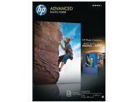HP Advanced glättat fotopapper - 25 ark/ A4/ 210 x 297 mm (Q5456A $DEL)
