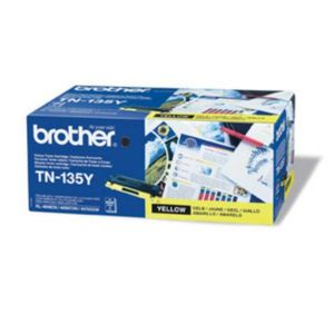 BROTHER Yellow Toner Cartridge High Capacity (TN-135Y)