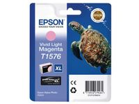EPSON T157 Vivid Light Magenta Cartridge - Retail Pack Stylus Photo R3000 (C13T15764010)