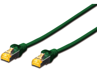 MICROCONNECT S/FTP CAT6A 3M Green Snagless (SFTP6A03GBOOTED)