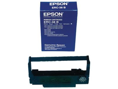 EPSON Ribbon ERC-38/ black f TM300A 300B 300C (C43S015374)