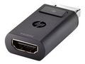 HP DisplayPort til HDMI 1.4-adapter