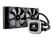 CORSAIR Hydro H115I Pro 280mm Radiator Advance RBG Lighting and Fan control with Software Liquid CPU Cooler