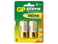 GP Alkaliske Batterier Type C LR14, 1,5V, 2-pack
