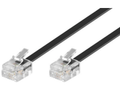 MICROCONNECT ModularCable RJ11 4/4P 2m