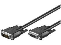 MICROCONNECT DVI-D (DL) 24+1PIN 10m M-F