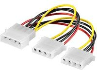 MICROCONNECT Power 4pin - 4pin + 4pin (PI01032)