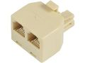 MICROCONNECT Y-ADAPTER RJ12-2xRJ12 M/F 6P
