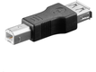 CABLES UNLIMITED Adapter USB A - B F-M