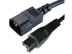MICROCONNECT Power Cord Notebook-C14,  1,8 m