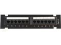 MICROCONNECT UTP Cat. 6 Patch panel, 12port