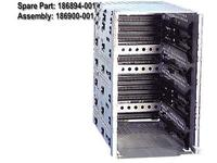 HP CAGE, DRIVE, W/ BACKPLANE (186894-001)