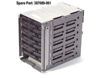 Hewlett Packard Enterprise CAGE,LVD 6 DRIVES (387089-001)
