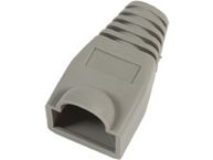 MICROCONNECT Boots for RJ-45 Plugs Grey
