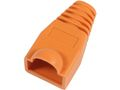 MICROCONNECT Boots for RJ-45 Plugs Orange