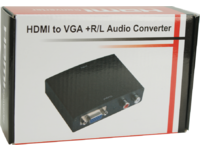 MICROCONNECT HDMI to VGA+Audio Converter (HDM1925V)